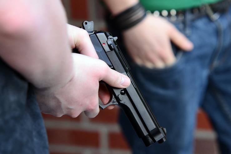 Pärnumaal tapeti tulirelvast 55-aastane mees