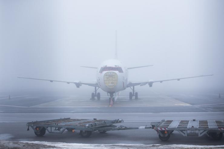 Tallinna lennujaama lennud on udu tõttu häiritud