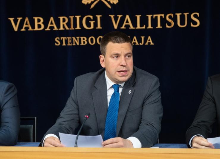 VAATA OTSE KELL 12: Valitsuse pressikonverentsil on Ratas, Mikser, Tõniste ja Anvelt