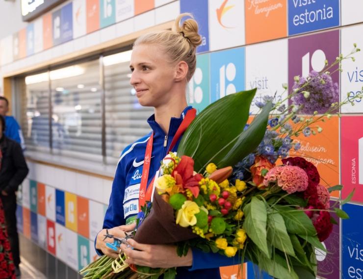 EOK premeerib Euroopa meistriks tulnud Katrina Lehist ja tema treenerit 28 500 euroga