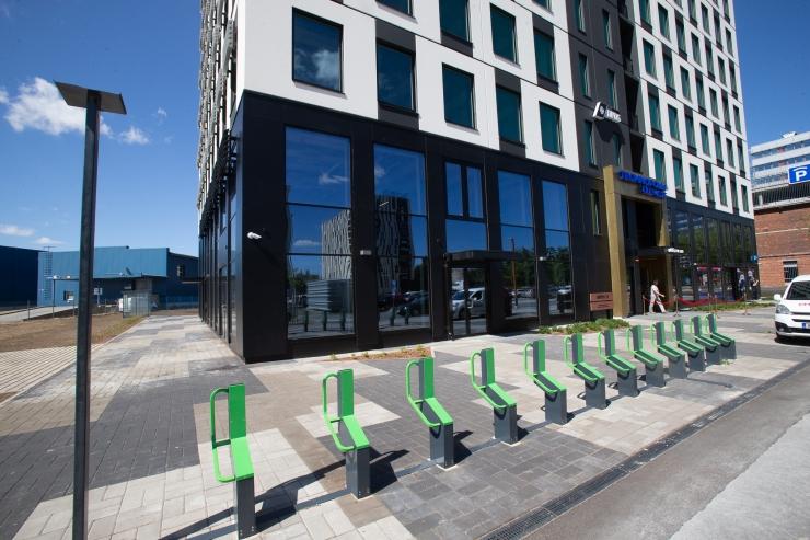 Liwentaali büroohoone pälvis keskkonnasäästliku ehituse eest kõrgeima LEED Platinum taseme