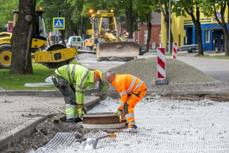 A.H Tammsaare teele rajatakse lisasõidurada