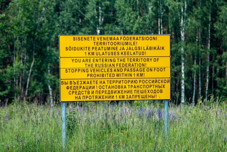 Piirivalvurid tabasid Võrumaal taas grupi ebaseaduslikke piiriületajaid
