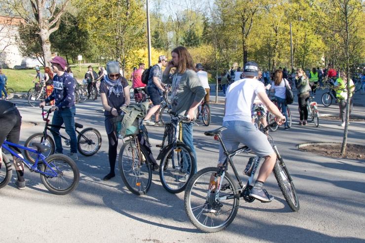 Lasnamäe rattaretke korraldajad loodavad murda eelarvamusi kivigetost