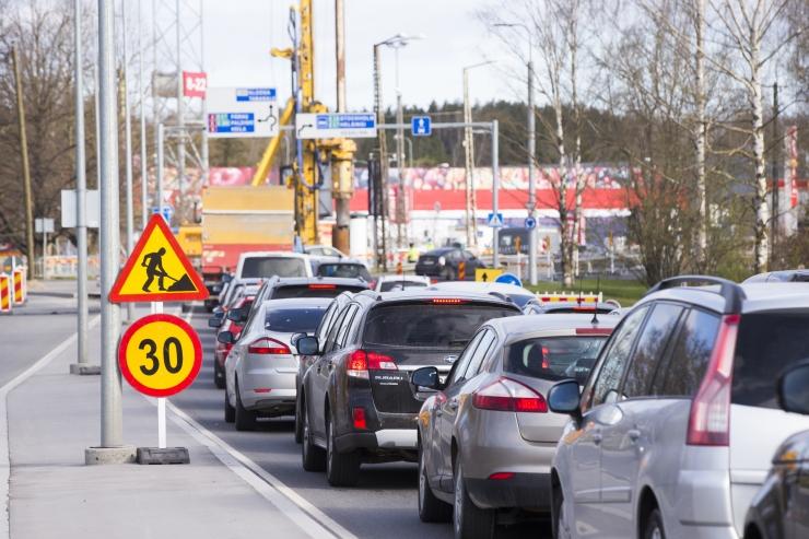 Taristutööd sulgevad uuel nädalal mitmel pool liikluse
