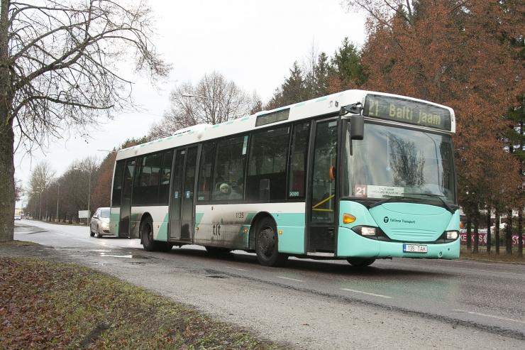 Bussiliini nr 73 marsruut muutub