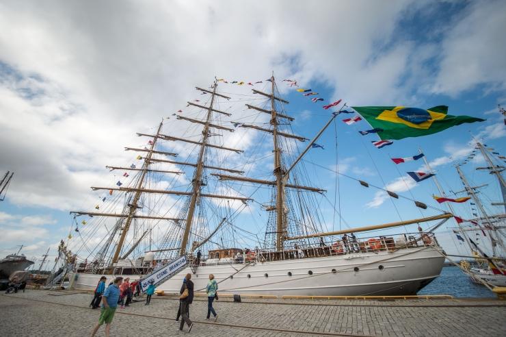 Tallinna merepäevadel on mõistlik liigelda jala, rattaga või lausa meritsi