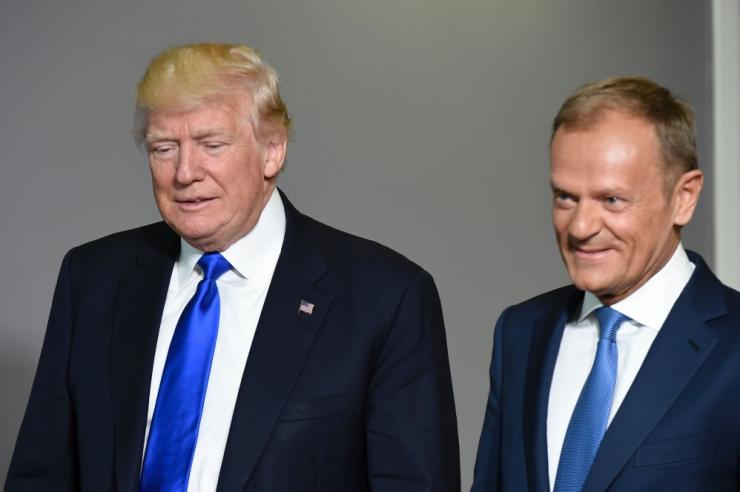 Tusk Trumpile: väärtusta oma liitlasi