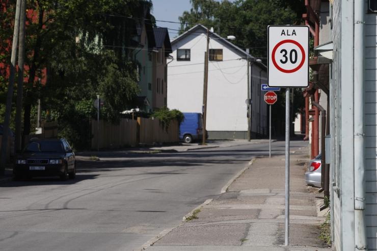 Nõmmel muutub liikluskorraldus