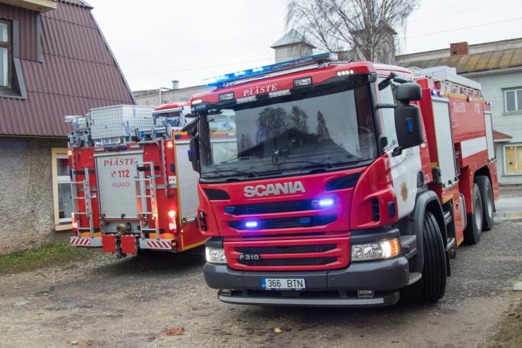 Tallinnas sai vingumürgituse laohoone süüdanud kodutu mees
