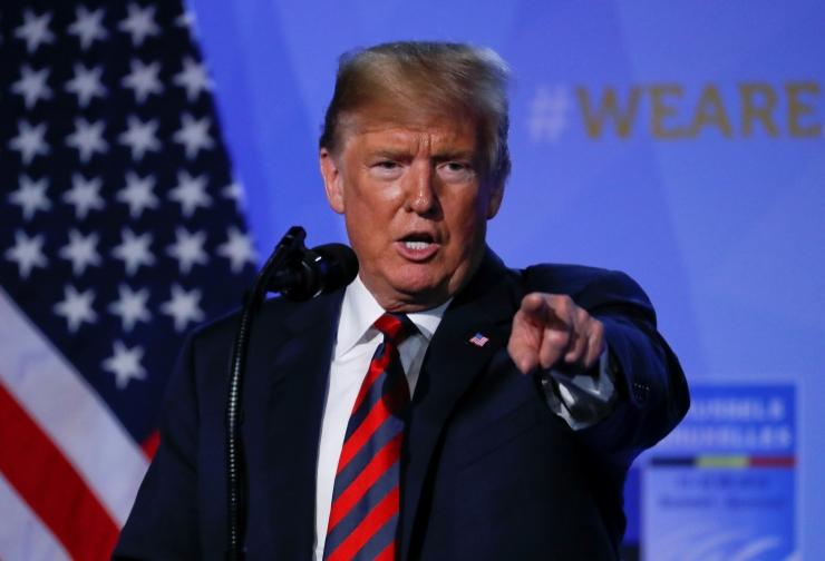 Trump: USA pühendumus NATO-le on jätkuvalt tugev