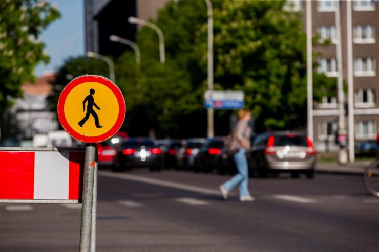 Tammsaare tee – Tondi – Rahumäe ristmikul muutub liikluskorraldus