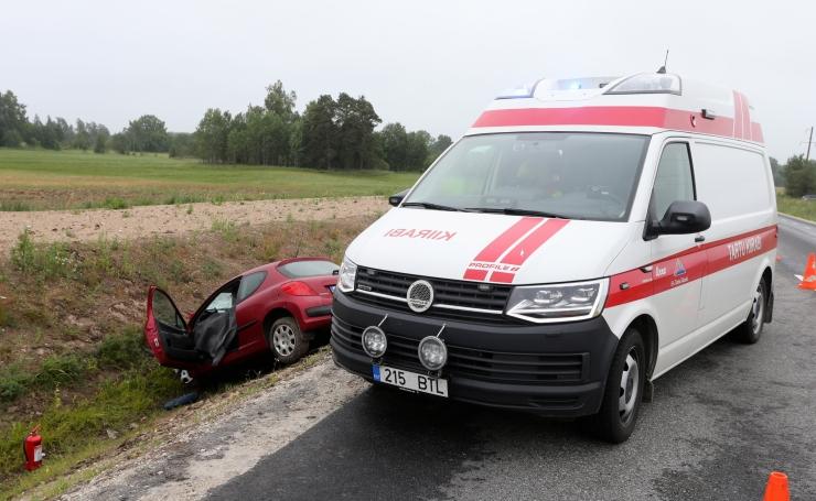 Kuues tõsisemas liiklusõnnetuses sai viga seitse inimest