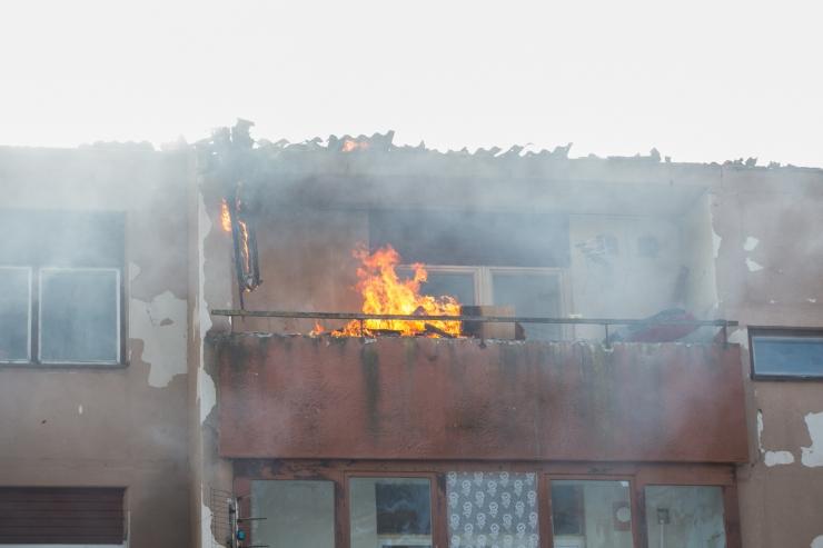 Haaberstis hukkus tulekahjus noor mees