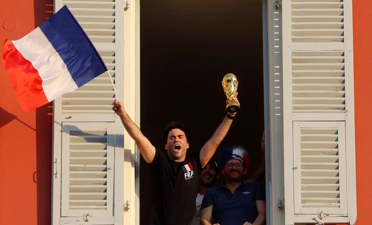 Jalgpalli maailmameistriks tuli Prantsusmaa võiduga Horvaatia üle