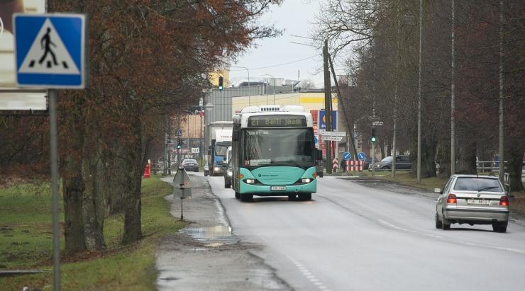 Bussiliinid nr 36 ja 61 suunatakse järgmisel nädalal ümbersõidule