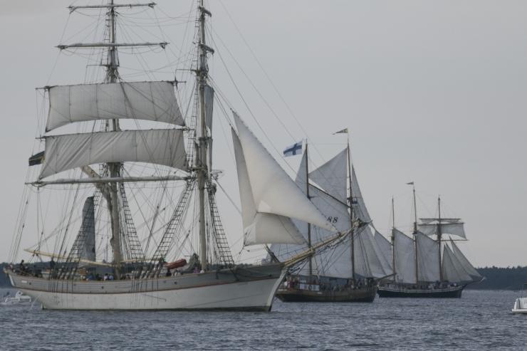 Tallinna merepäevadel pälvisid suurima tähelepanu kultuuriprogramm ning lahesõidud