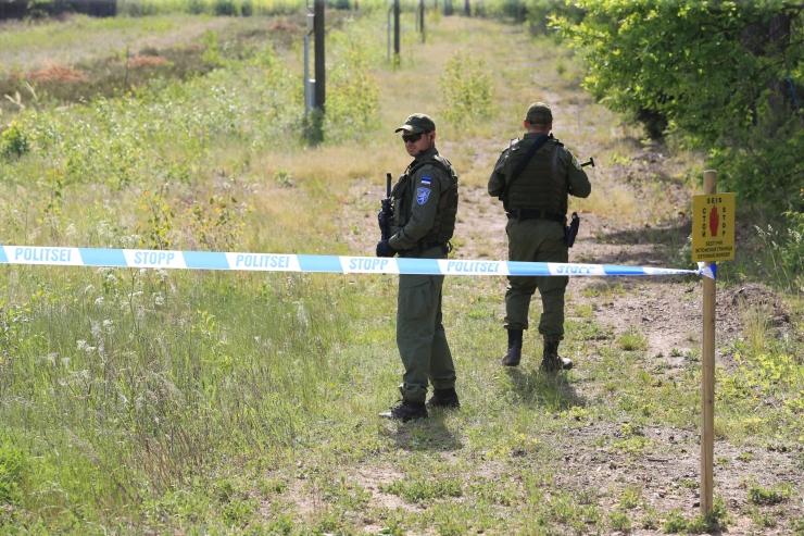 Võrumaal tabati kolm ebaseaduslikult riigis viibinud meest