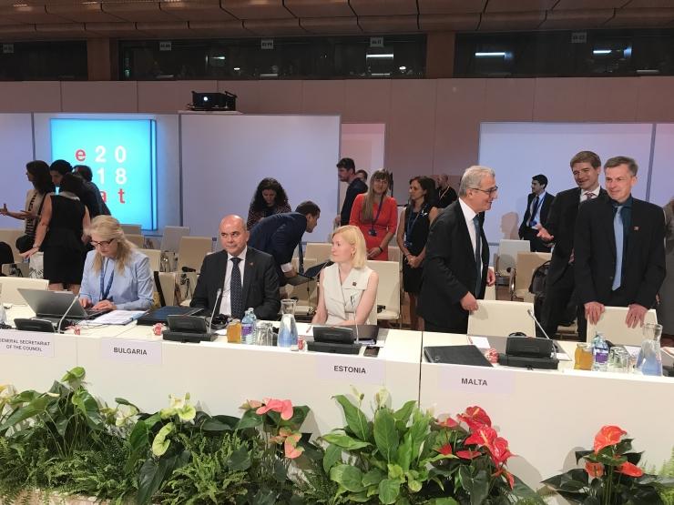 Minister Sikkut Euroopa tööministrite kohtumisel: paindlikkuse suurendamine töösuhetes peab olema tähelepanu all