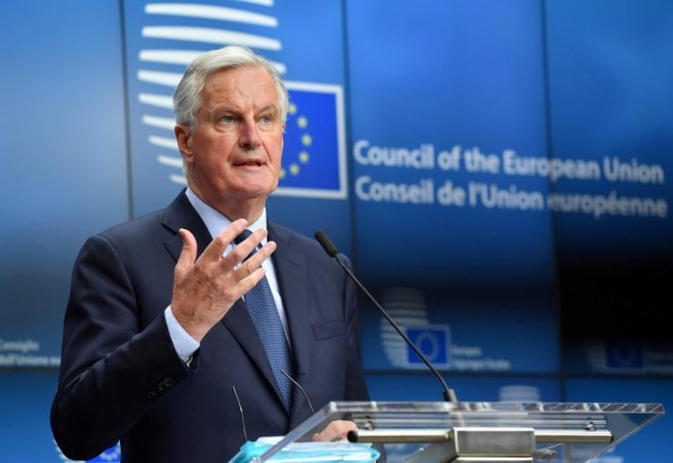 Barnier: brittide Brexiti-järgne kava tekitab küsimusi