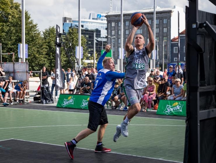 Tänavakorvpalli Eesti meistrivõistluste etapp toimub esmakordselt Nõmmel