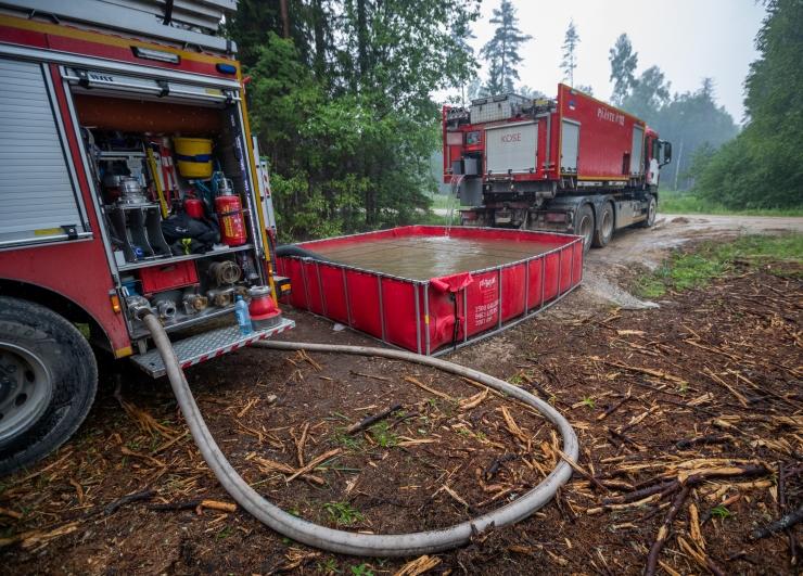 Naaberriikide abistamisel ei tohi unustada Eesti metsade tuleohtu