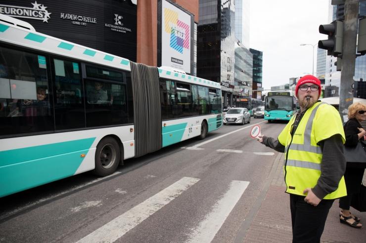 Buss nr 73 suunatakse homsest kuni laupäevani ümbersõidule