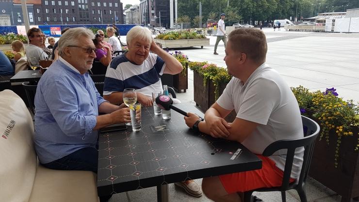 VIDEO! Ivo Linna ja Francis Goya esmakohtumine toimus Tallinnas