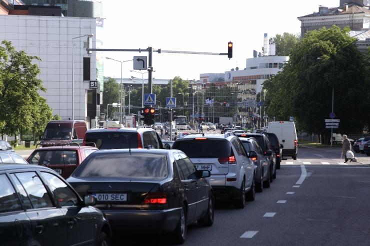 Tänasest muutub Gonsiori ja Pronksi tänava ristmikul liikluskorraldus