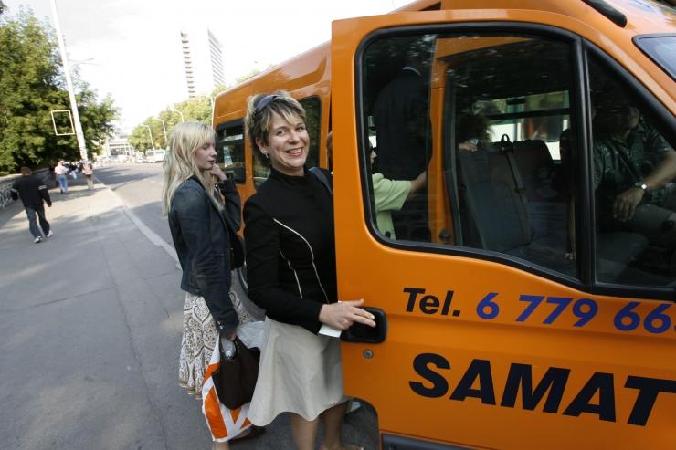 Samat vaidlustab kohtus osalise tasuta ühistranspordi