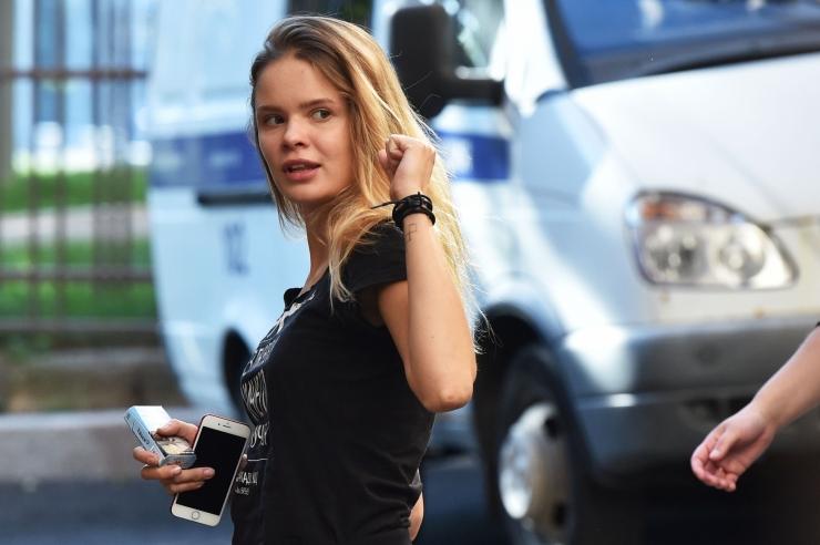 Vene politsei vabastas Pussy Rioti liikmed