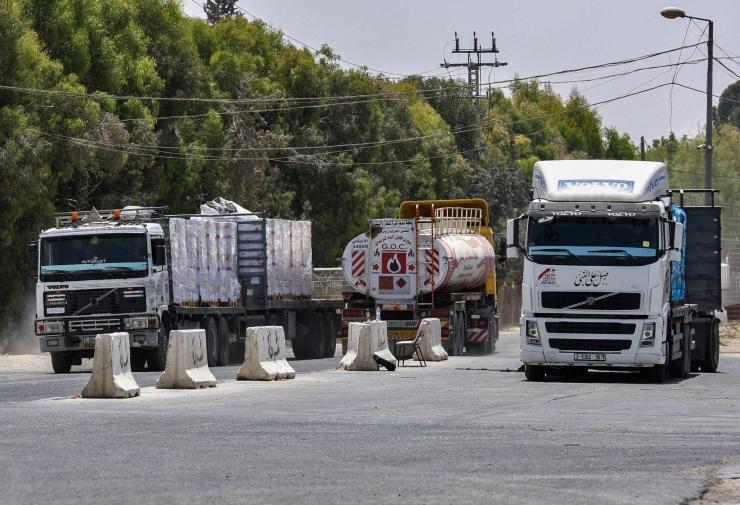 Iisrael taaskehtestas blokaadi Gaza kütusetarnetele