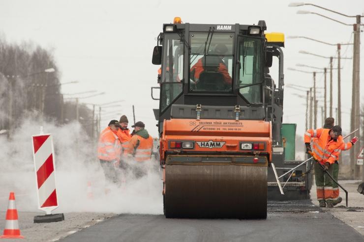 Algavad Haabersti linnaosa kvartalisiseste teede taastusremonttööd