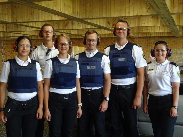 Balti riikide pealinnade linnapolitseinike võistlused Paikusel võitis Riia võistkond