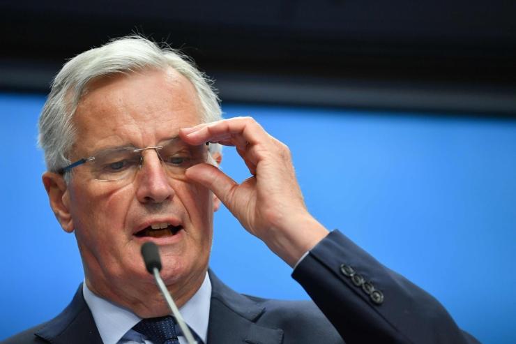 Barnier: ÜK ja EL on lahutusleppes ühel meelel 80 protsendi ulatuses