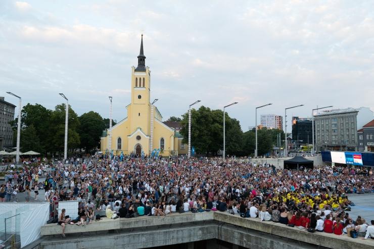 Täna lõppev koorimuusika suursündmus Europa Cantat tõi Eestisse rekordarvu osalejaid