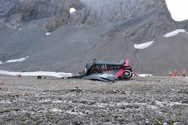 Politsei: Šveitsi lennuõnnetuses hukkusid kõik 20 pardalolnut