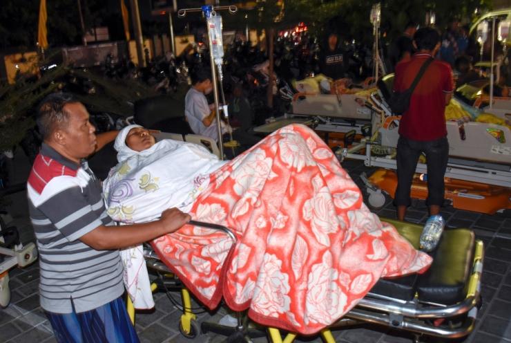Indoneesia maavärinas sai surma vähemalt 37 inimest