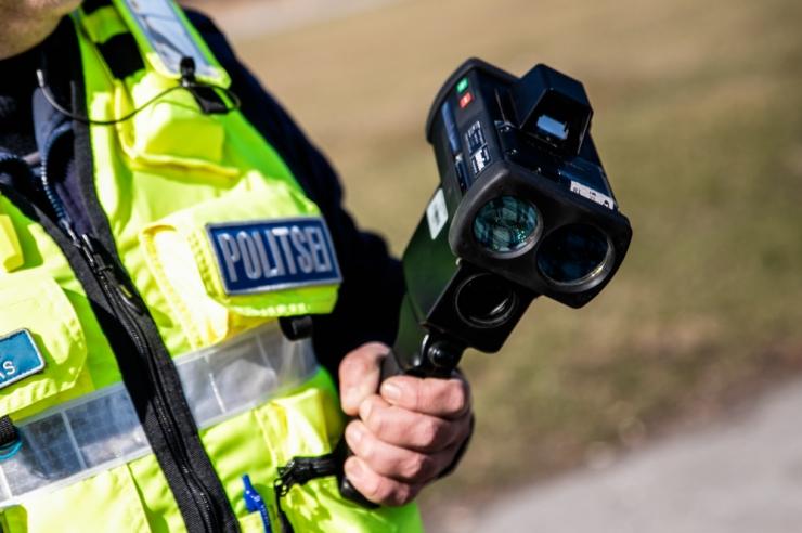 Politsei avalikustas Tallinnas tänased kiirusmõõtmiskohad