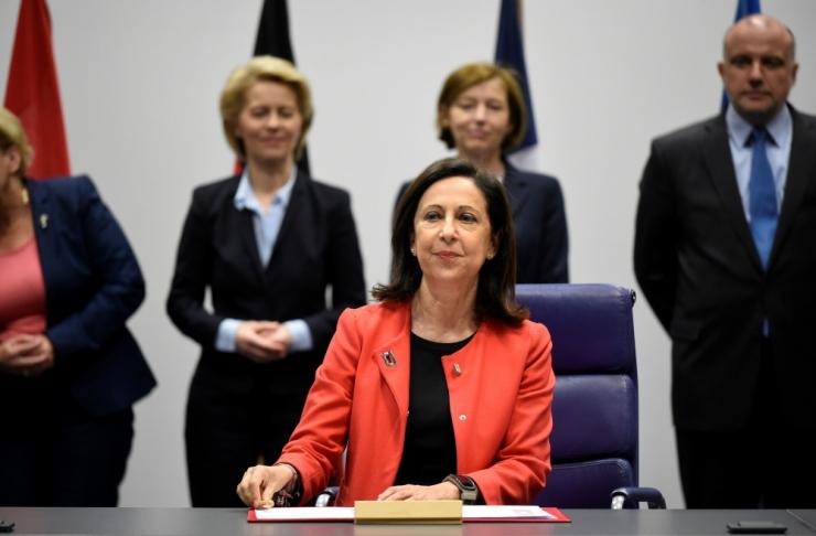 Hispaania kaitseminister kahetses lahingraketi kaotamist Eesti kohal