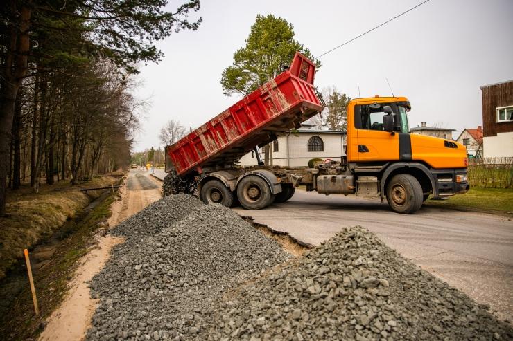Tallinnas algab Herne tänava rekonstrueerimine