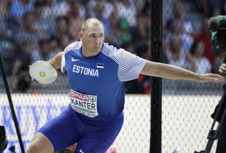 Gerd Kanter lõpetas karjääri viimase tiitlivõistluse viiendana