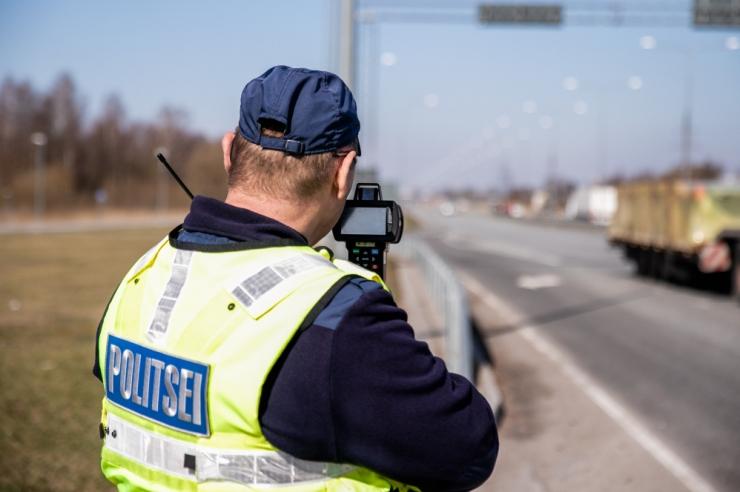 Politseinikud keskenduvad Tallinna-Tartu maanteel kiirusele