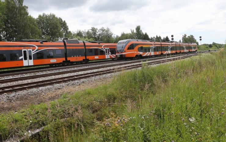 Raudteeremont toob alates 13. augustist Tallinna-Pääsküla vahele asendusbussid
