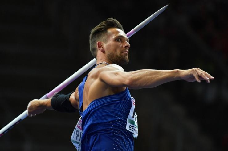 Eesti odaviskaja Magnus Kirt võitis Berliinis pronksmedali