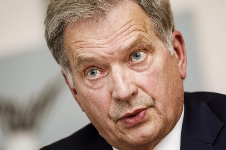 Niinistö toetus NATO-le mõjutaks soomlasi