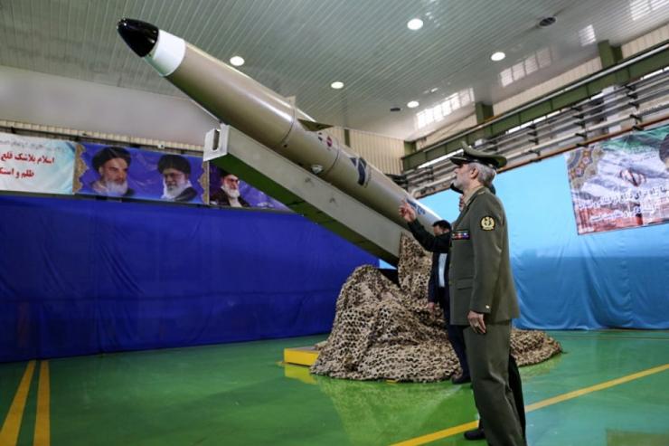 Meedia: Iraan avalikustas uue põlvkonna raketi