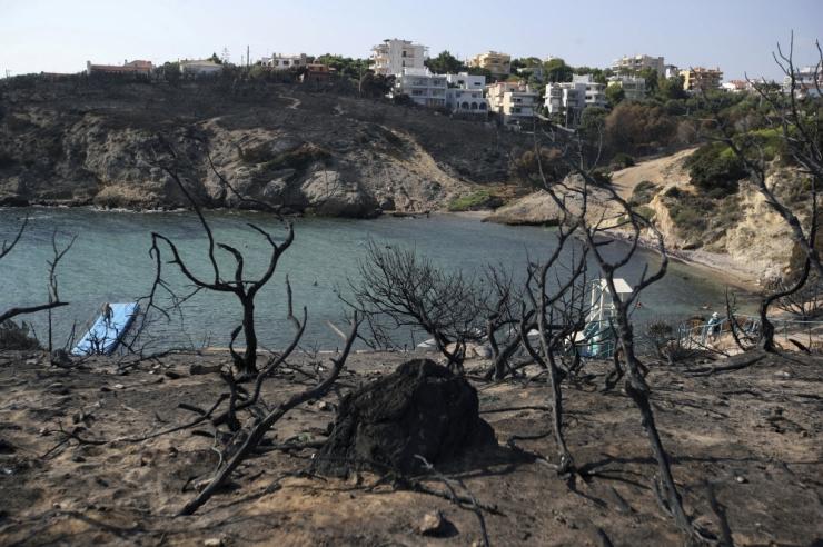 Kreeka maastikupõlengu ohvrite arv kasvas 96-ni