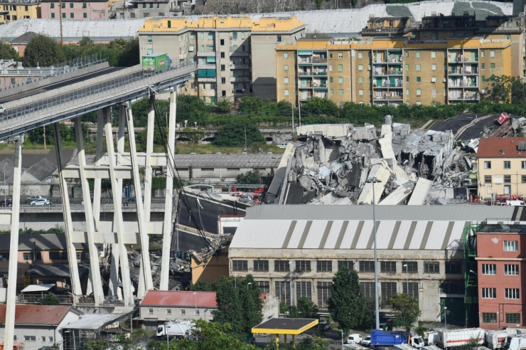 Genova sillavaringu ohvrite arv kerkis 38-ni