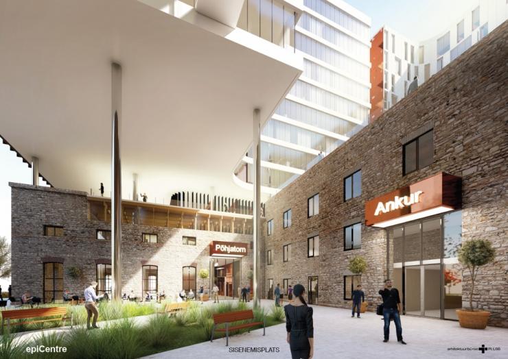 e53f7702909 Rahva lemmikprojekt saab Ülemiste City uueks südameks. Mainor Ülemiste nõukogu  kinnitas ...